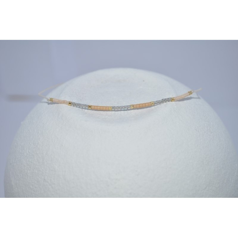 Trendy parel armband