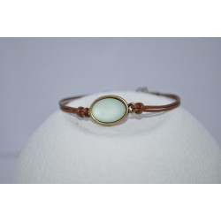 Armband in mint kleur